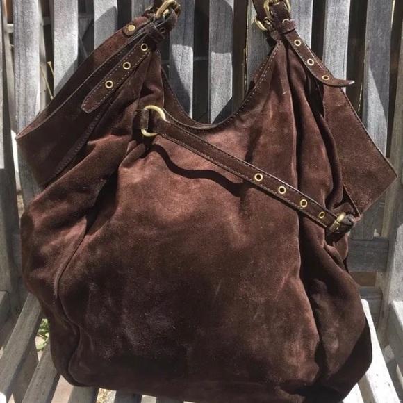 f5c40a009b Kooba Handbags - Kooba suede Tess Hobo bag Gently used